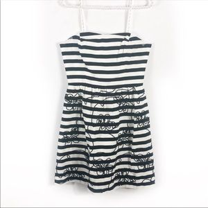 Lilly Pulitzer Dresses - Lilly Pulitzer embroidered striped mini dress 6